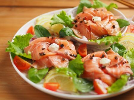 サーモン海鮮サラダ11