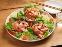 サーモン海鮮サラダ03