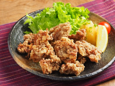豚肉の竜田揚げ23