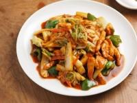 鶏むね肉と白菜のピリ辛07
