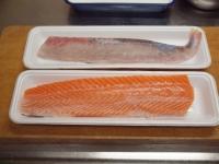 サーモンとカンパチの握り寿司19