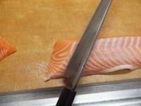 サーモンとカンパチの握り寿司20