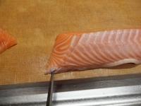 サーモンとカンパチの握り寿司22