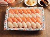 サーモンとカンパチの握り寿司03