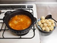 鶏団子キムチ鍋79