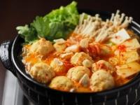 鶏団子キムチ鍋68