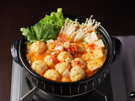 鶏団子キムチ鍋05
