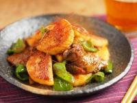 長芋と豚ばら肉の照り焼き風24
