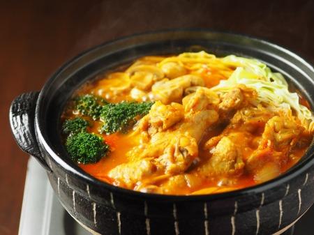 鶏とキャベツのトマトカレー鍋14