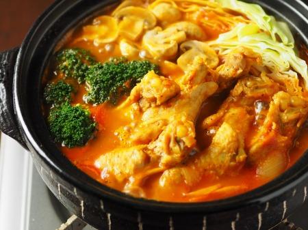 鶏とキャベツのトマトカレー鍋25