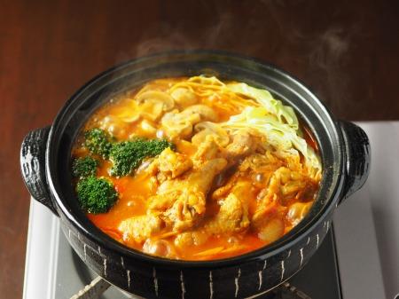 鶏とキャベツのトマトカレー鍋03