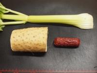 長芋とサラミのサラダ風43