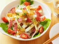 長芋とサラミのサラダ風29