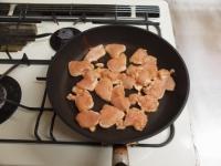 鶏むね肉のチリソース炒め50