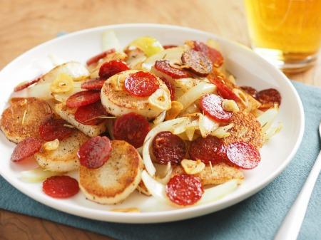 長芋とサラミのローズマリー焼き40