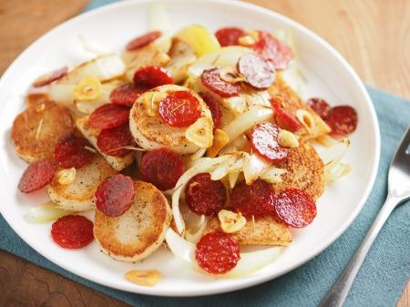 長芋とサラミのローズマリー焼き19