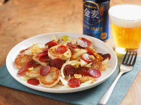 長芋とサラミのローズマリー焼き30
