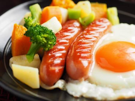 コロコロ野菜サラダ朝食07