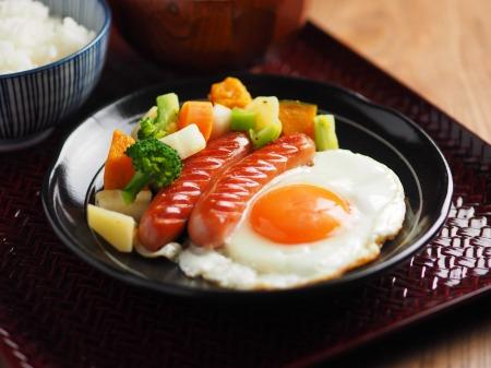 コロコロ野菜サラダ朝食11