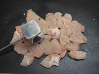 鶏むね肉とブロッコリーの焼きラ35