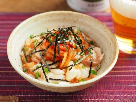 たたき長芋の旨味キムチ和え20