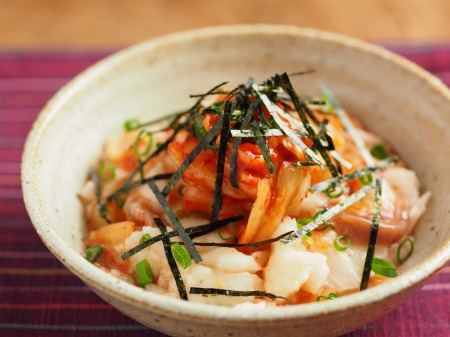 たたき長芋の旨味キムチ和え11