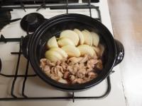 牡蠣入り肉豆腐鍋87