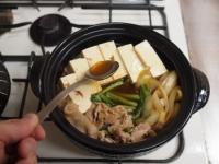 牡蠣入り肉豆腐鍋92
