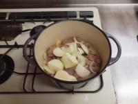 豚肉とひよこ豆のチリトマト煮45