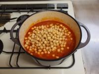 豚肉とひよこ豆のチリトマト煮53