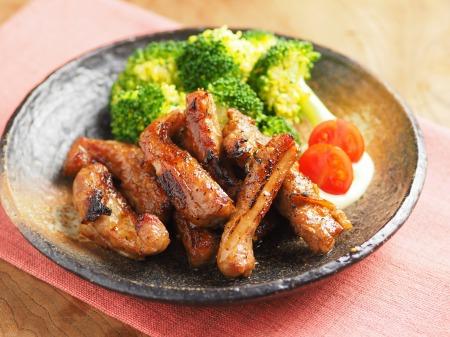 豚肉のマーマレード焼き02