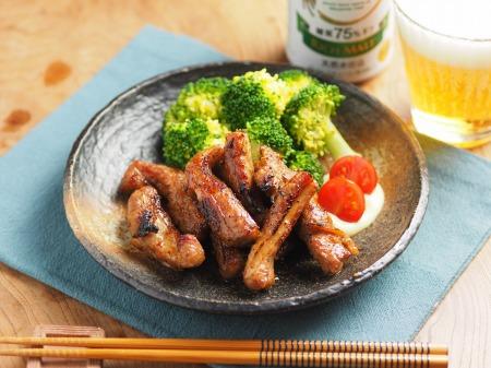 豚肉のマーマレード焼き26