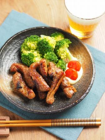 豚肉のマーマレード焼き29