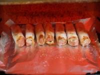 魚肉ハンバーグの餃子革巻き41