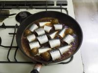 いわしの梅酒煮19