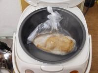 蒸し鶏とセロリのサラダ07