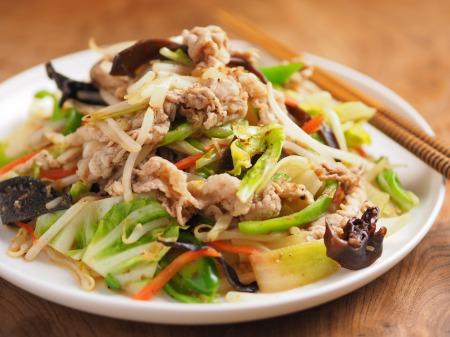 肉野菜炒め18