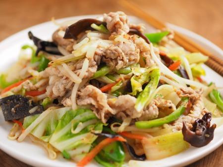 肉野菜炒め20