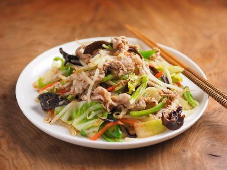 肉野菜炒め11