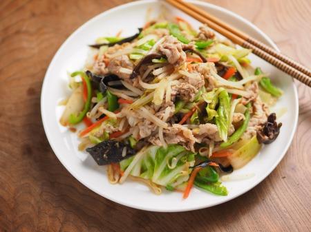 肉野菜炒め26