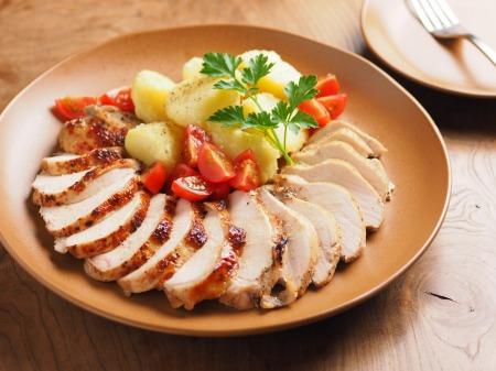 鶏むね肉のアンチョビロースト05