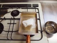 銅製フライパンで出汁巻き34