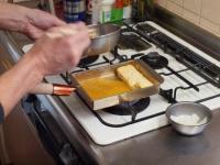 銅製フライパンで出汁巻き38