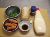長芋とウインナーのガリマヨ炒24