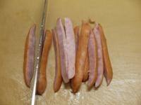 長芋とウインナーのガリマヨ炒27