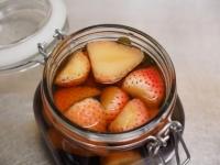 いちごバニラのフルーツブランデ33