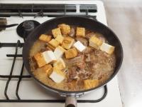 鶏肝と厚揚げの照り煮30
