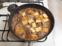 鶏肝と厚揚げの照り煮31