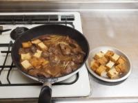 鶏肝と厚揚げの照り煮32
