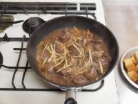 鶏肝と厚揚げの照り煮33